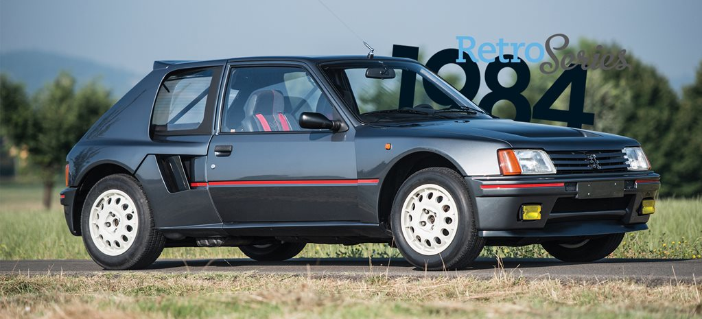 Retro 1984 Peugeot 205 Turbo 16