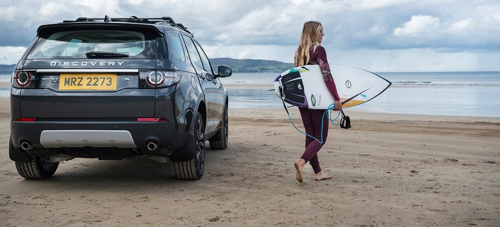 Jaguar Land Rover's new wave in recycling turns concept cars into surfboards