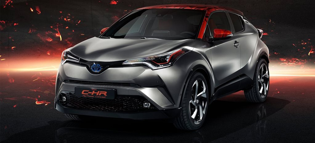 Toyota C-HR Hy-Power Concept previews future performance hybrids