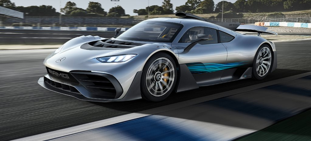 Mercedes AMG Project One revealed