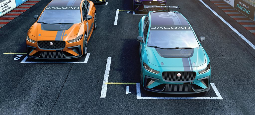 Jaguar announces electric SUV race series