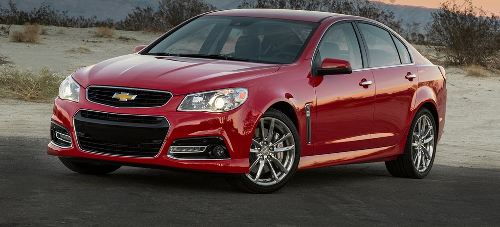Chevrolet starts export Commodore shutdown