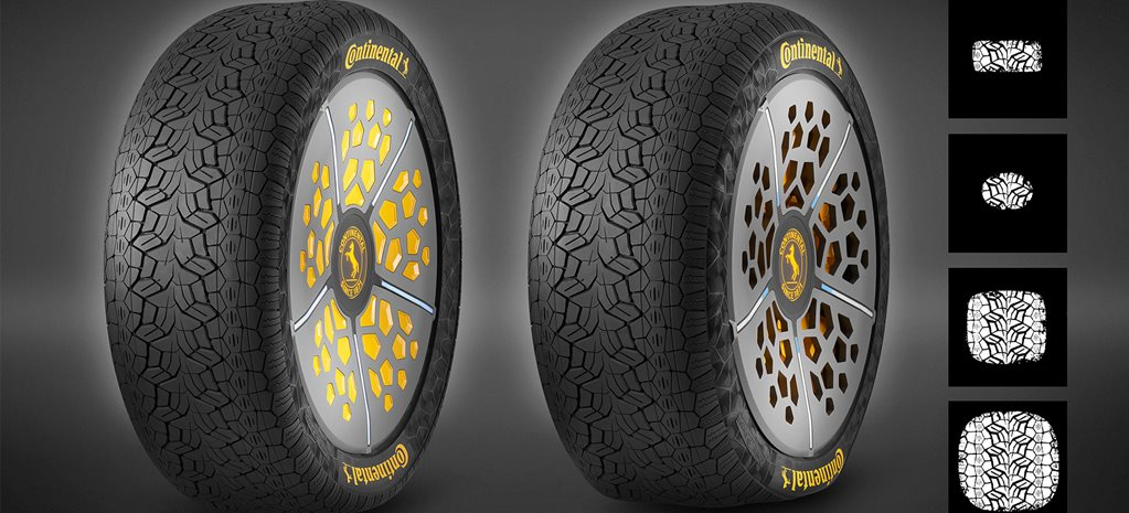 Continental develops tyres that adjusts its contact patch on the go