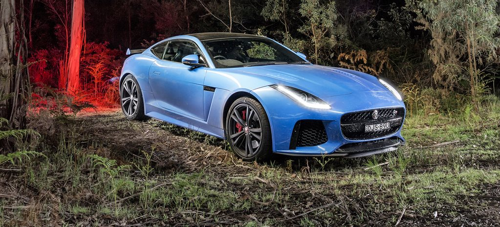 Searching for the Tasmanian Tiger with a 2017 Jaguar F-Type SVR