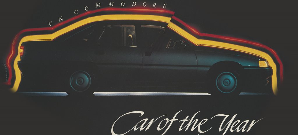 1989 Holden Commodore: VN Commodore - Car of the Year
