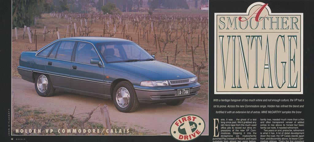1991 Holden Commodore A Smoother Vintage