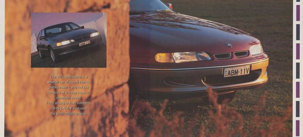 1993 Holden Commodore: Little Aussie Byter