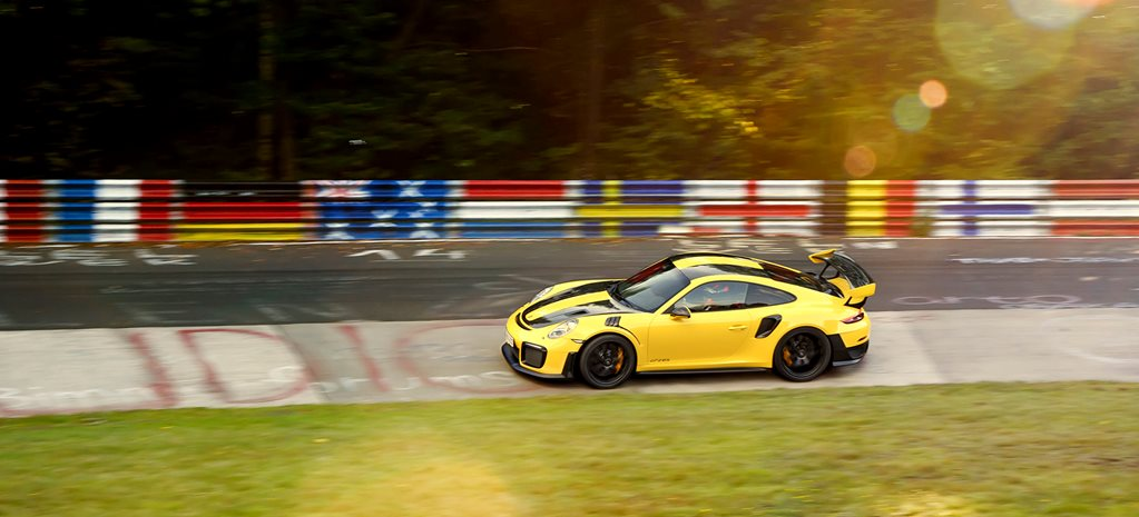 2018 porsche 911 gt2 rs NBR record side action