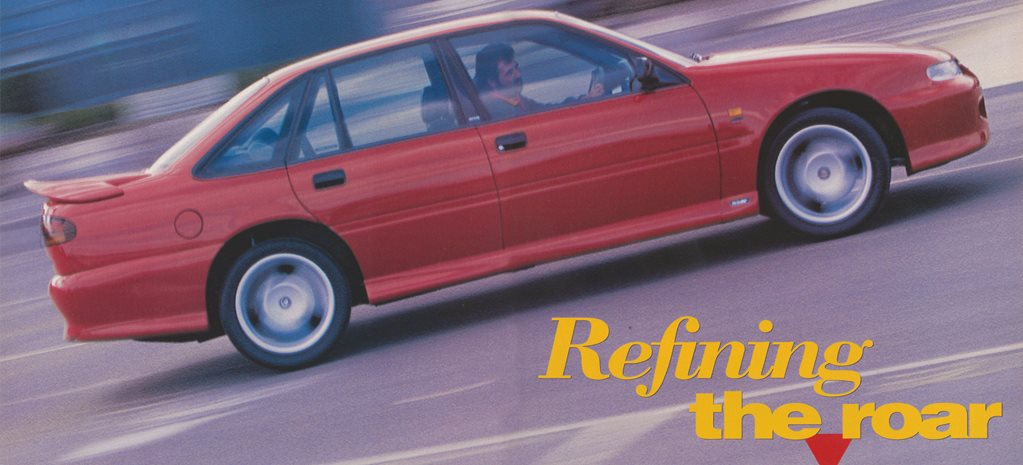 1995 Holden Commodore: Refining the roar