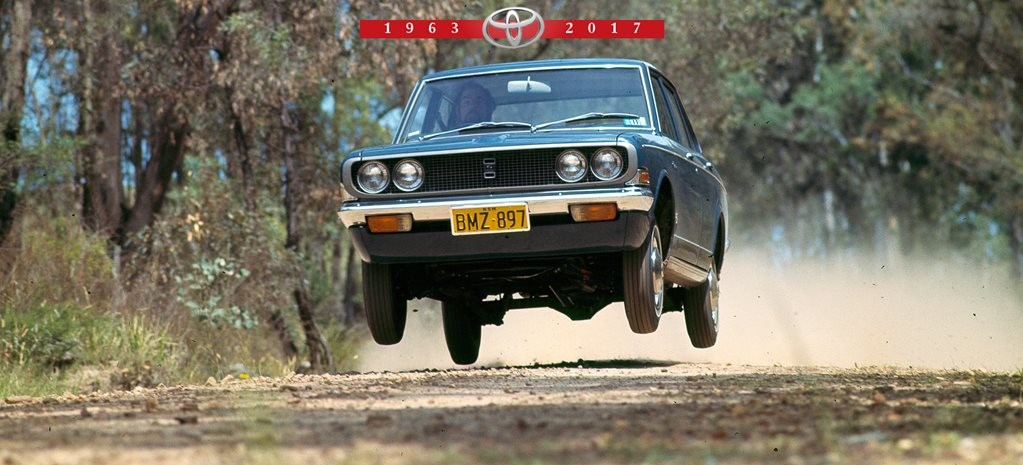 A timeline of Aussie built Toyotas