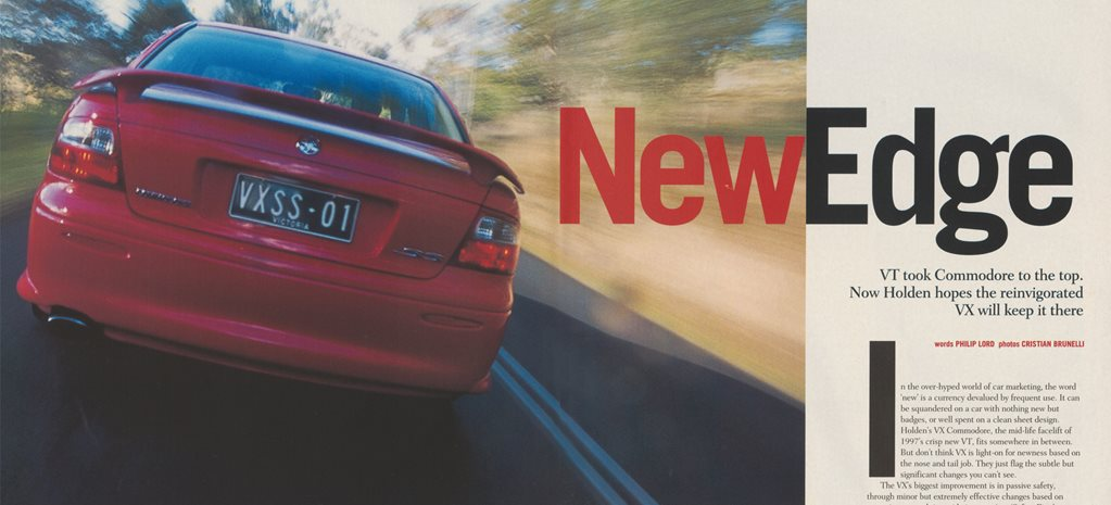 2000 Holden Commodore: Holden VX Commodore SS first drive