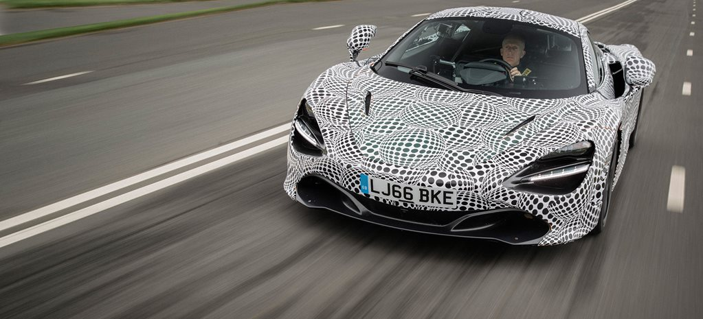 McLaren reveals three-seat 720S-based BP23 hypercar mule