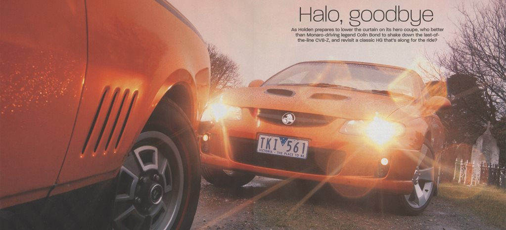 2005 Holden Commodore Halo goodbye