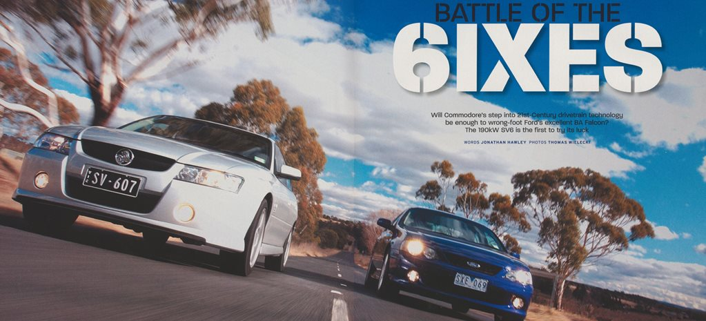 2004 Holden Commodore Battle of the 6ixes