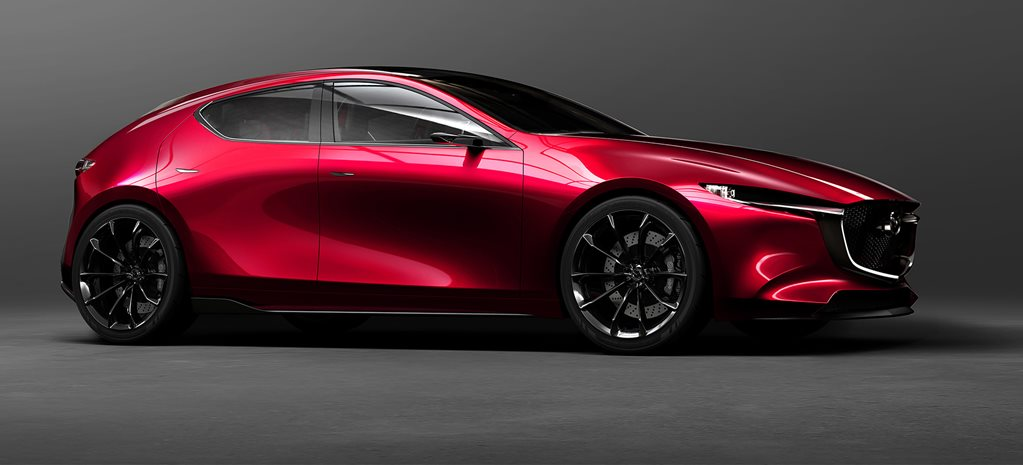 Mazda Kai concept unveiled, next-gen Mazda 3 previewed