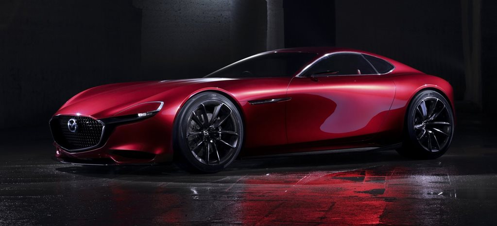 Mazda's rotary sports car is a lot further away than expected