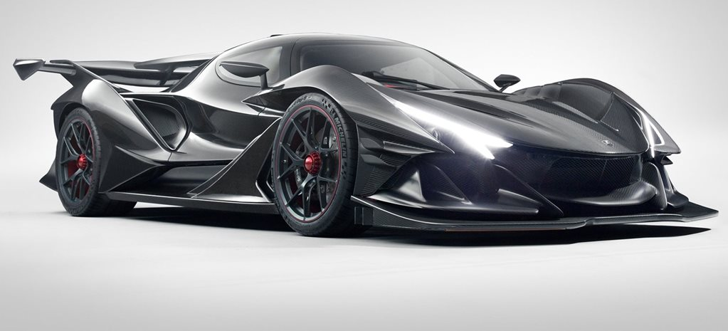 The Apollo Intensa Emozione is a screaming 9000rpm V12 middle finger to turbochargers