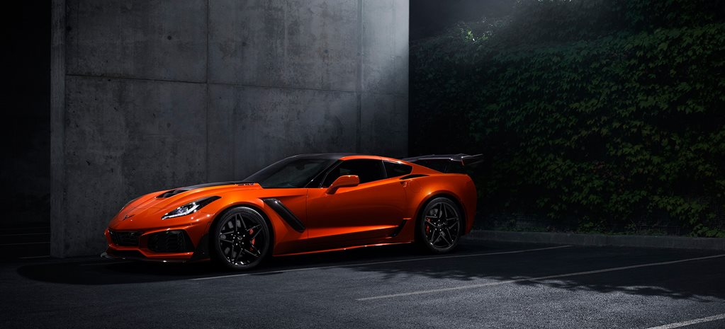 2019 Corvette ZR1 wide