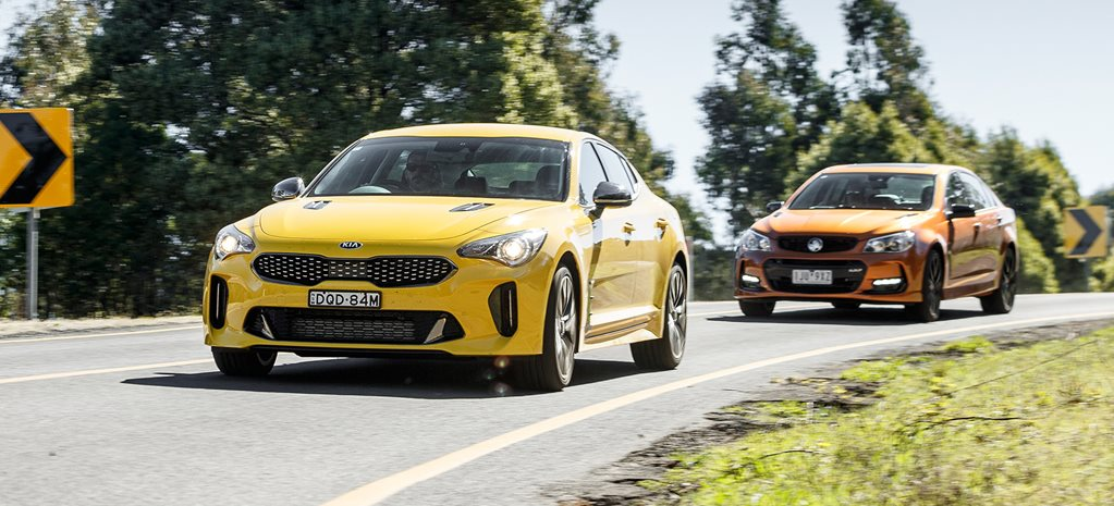 Kia Stinger Holden Commodore