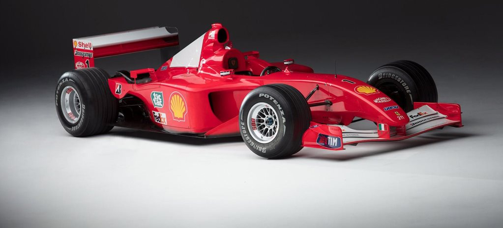 Monaco-winning Ferrari breaks record at auction