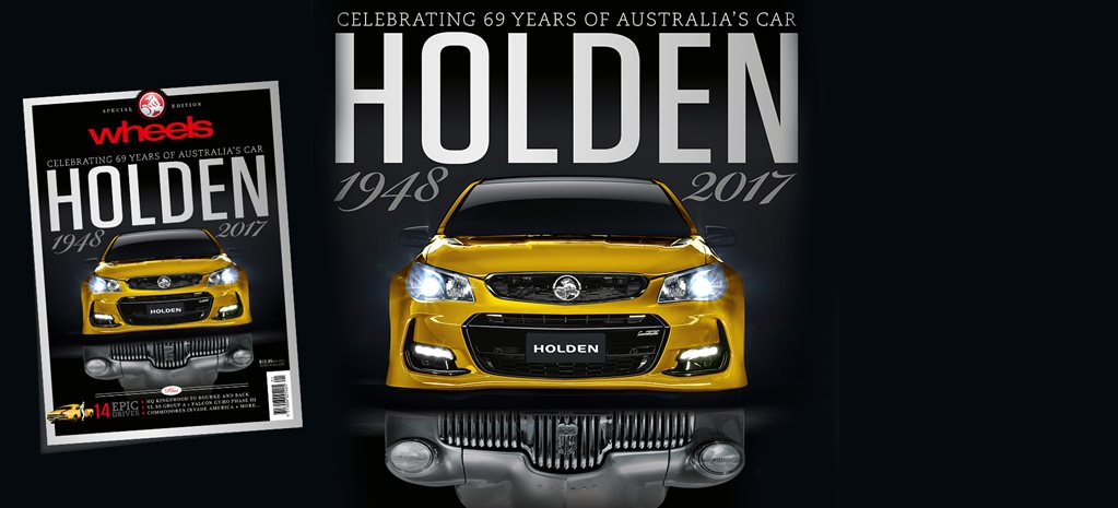 Holden special edition magazine – on sale now