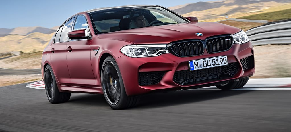 BMW M5 first edition cover LONG
