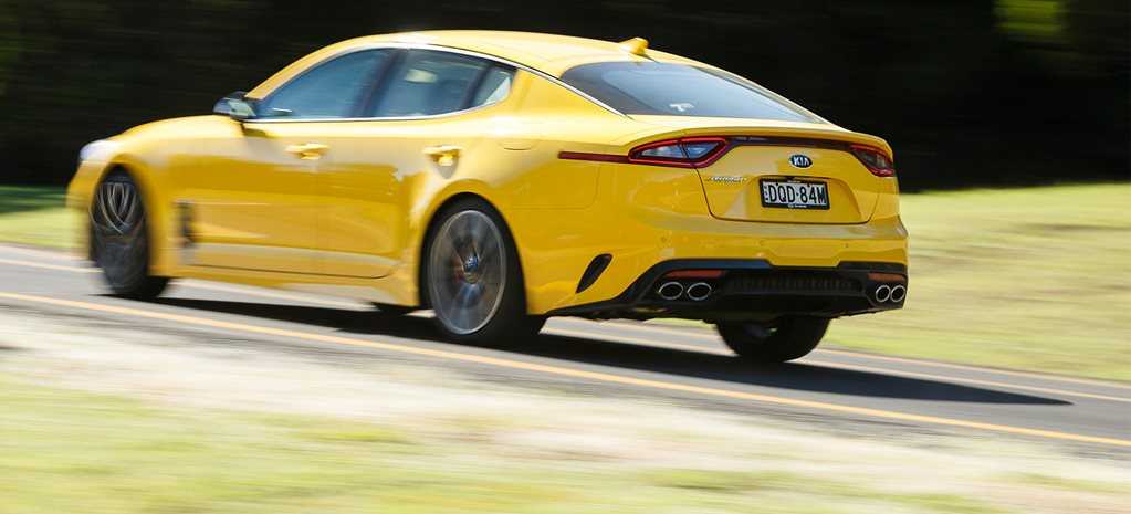 Kia Stinger exhaust upgrade announced