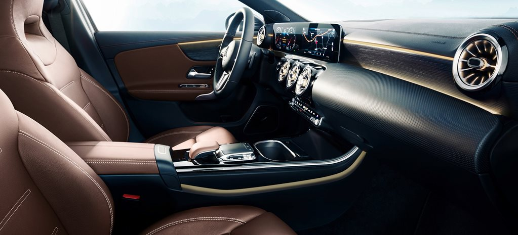 2018 Mercedes-Benz A-Class interior teased