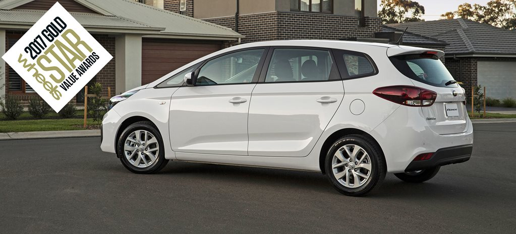 People movers under 60K Australias Best Value Cars 2017