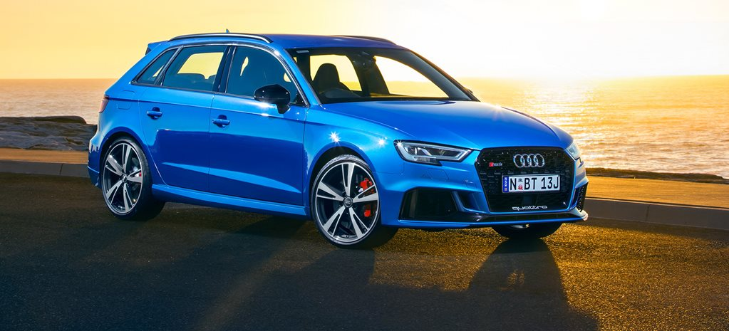 2017 Audi RS3 Sportback added to Australian showrooms