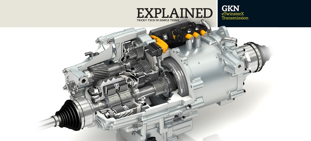 Explained GKN eTwinsterX Transmission
