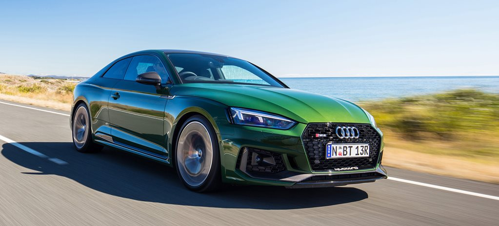 2018 audi rs5 green front side action header W