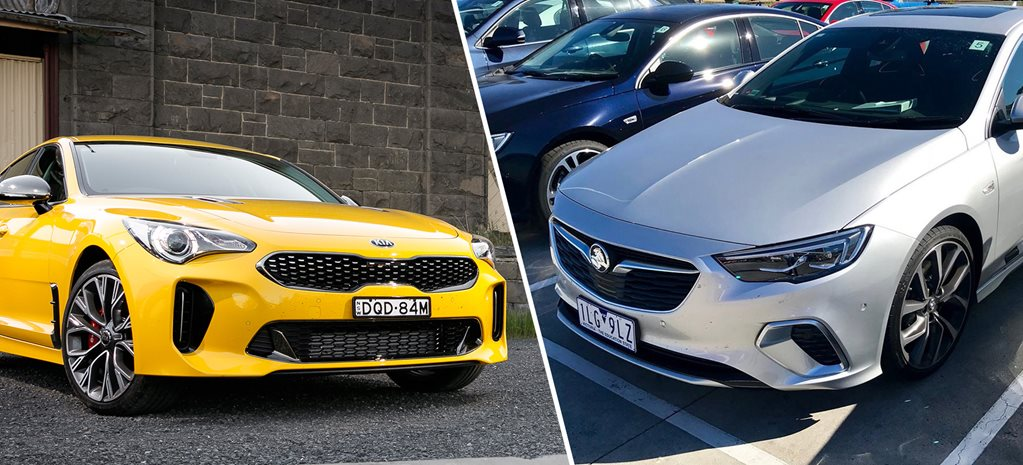 2017 Kia Stinger 330Si vs 2018 Holden Commodore VXR