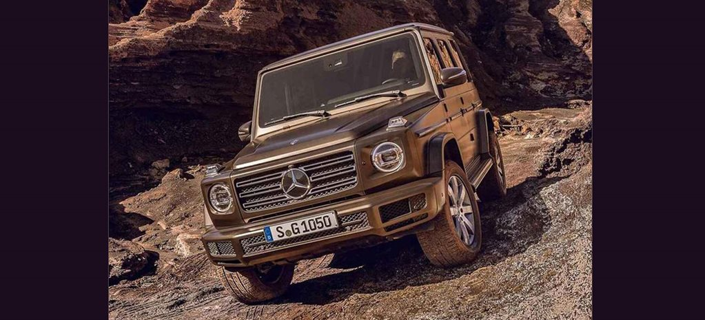 2018 Mercedes Benz G Class images leaked wide