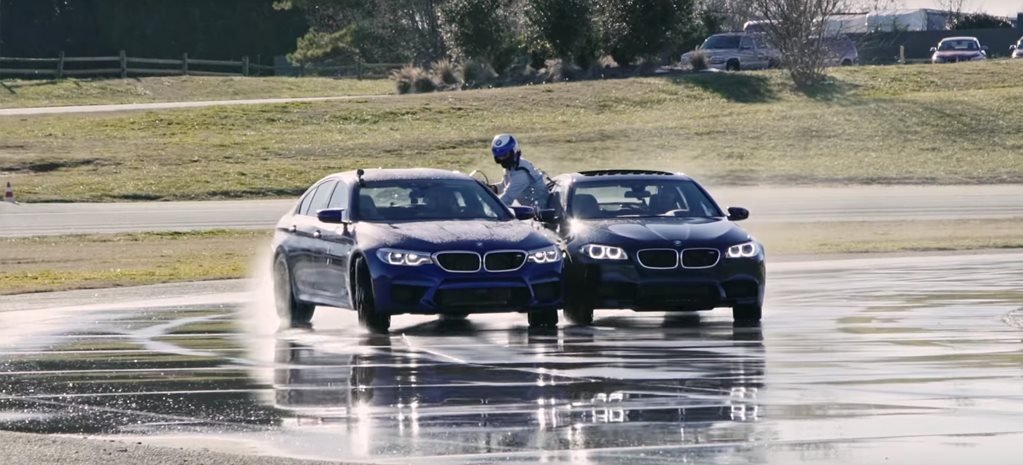 BMW reclaims longest drift world record with audacious 8-hour M5 stunt