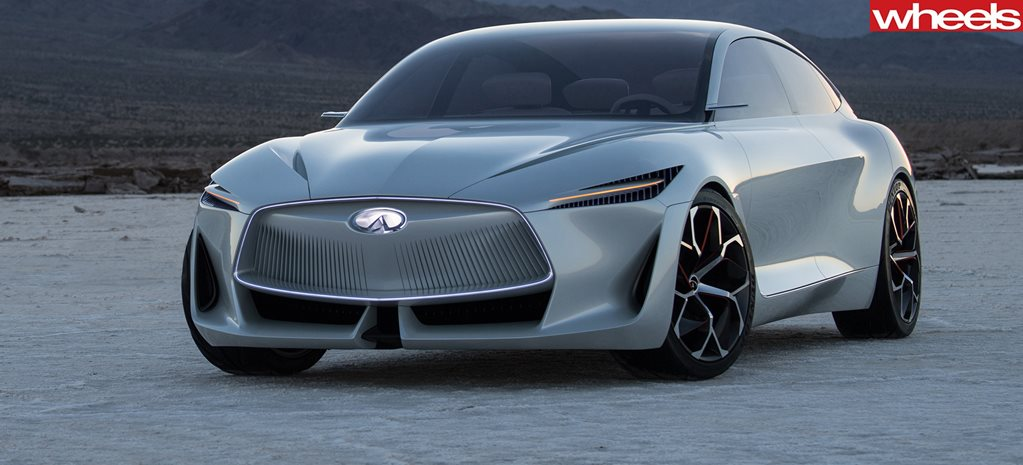 2018 Detroit Auto Show: Infiniti Q Inspiration Concept reveals sleek new design language