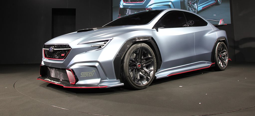 Subaru Viziv Performance STI Concept revealed at Tokyo Auto Salon