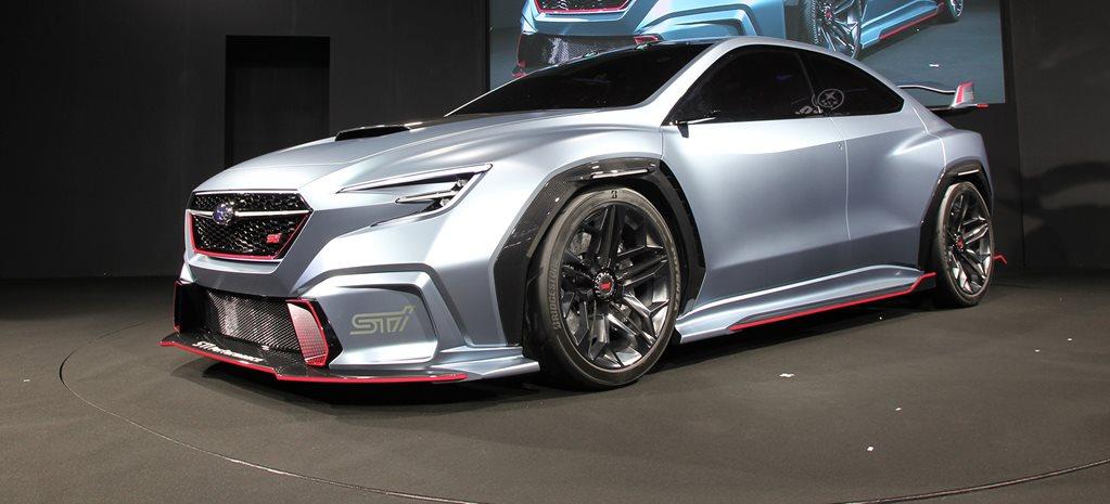 Subaru Viziv Performance STI Concept revealed at Tokyo ...