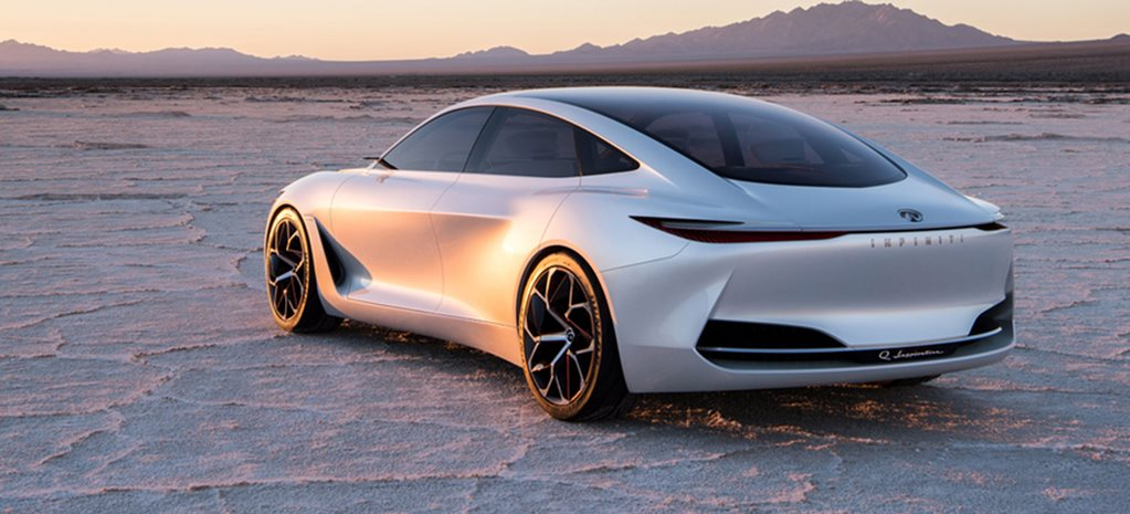 infiniti to roll out battery  range