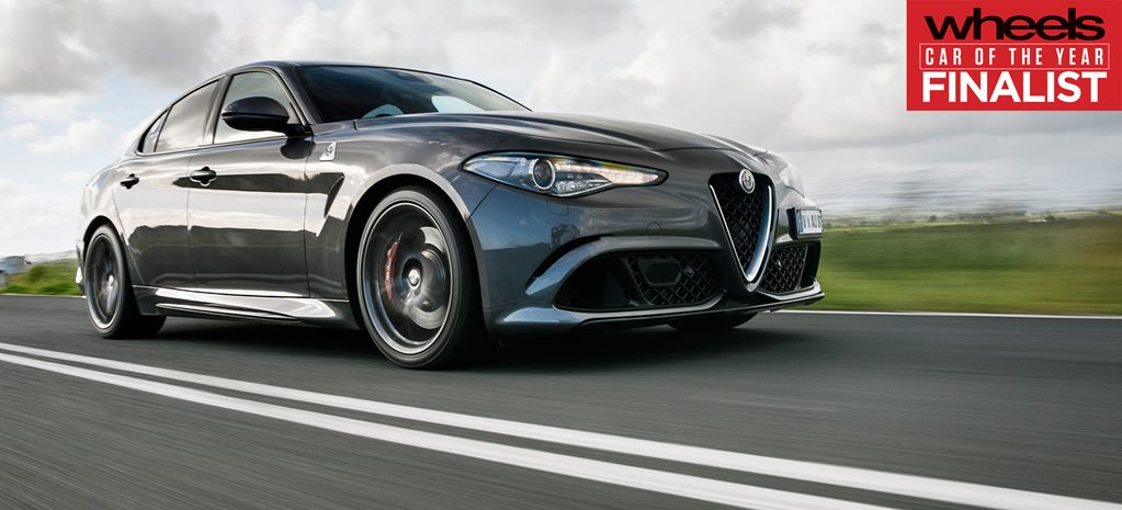 Alfa Romeo Giulia 2018 Car of the Year Finalist