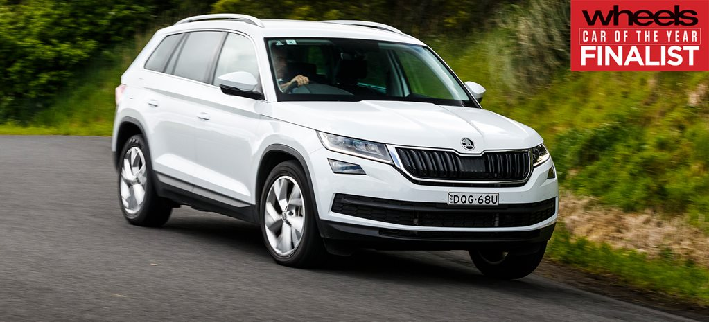 Skoda Kodiaq 2018 Car of the Year Finalist