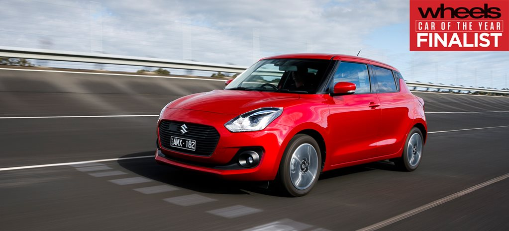 Suzuki Swift 2018 Car of the Year Finalist