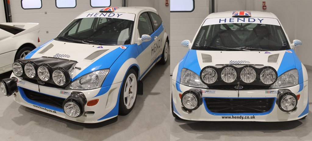 Colin Mcrae S Wrc Ford Focus For Sale