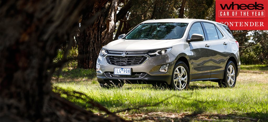 Holden Equinox 2018 Car of the Year contender
