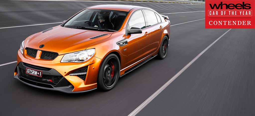 HSV GTS-R W1 2018 Car of the Year contender
