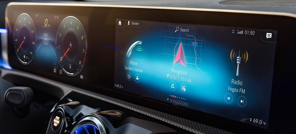 Mercedes-Benz MBUX system ready for entire range