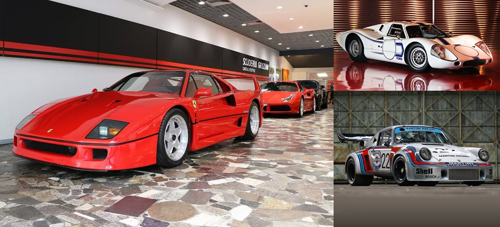 Multi-millionaires walk this way your ultimate three-car garage is up for sale