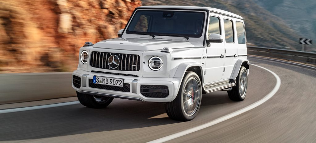 2018 Mercedes-AMG G63 is a 430kW ostentatious off-roader