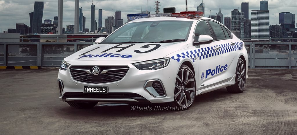 2018 Holden ZB Commodore shines at police academy