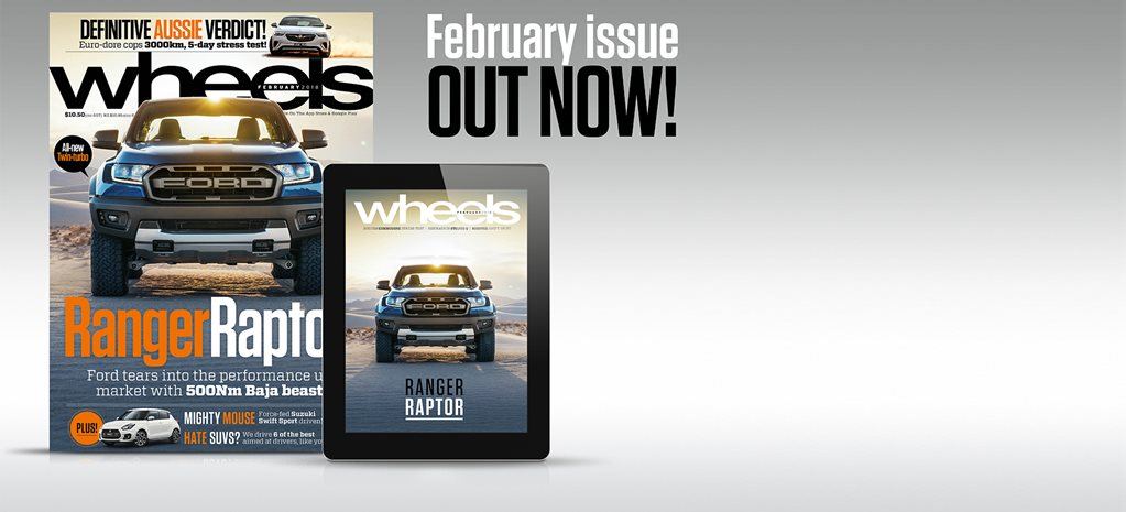Wheels February 2018 New issue out this week